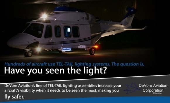 Aircraft Lighting Systems - DeVore Aviation Corporation of America